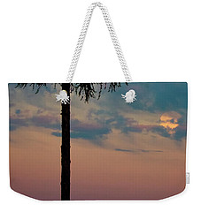 Not Quite Clearcut Weekender Tote Bag by Albert Seger