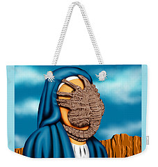 Not So Immaculate Conception Weekender Tote Bag