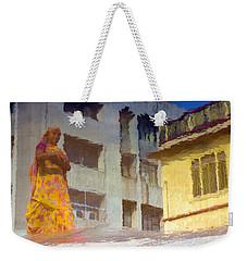 Not Sure Weekender Tote Bag by Prakash Ghai