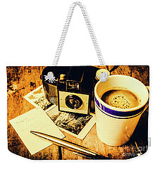 Notes Of Past Recollection Weekender Tote Bag