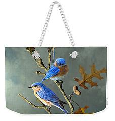 Nothing But Bluebirds Weekender Tote Bag
