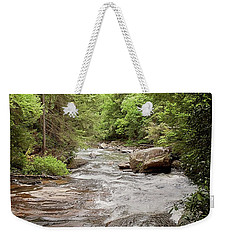 Nothing Is Softer Or More Flexible Than Water, Yet Nothing Can Resist It. Lao Tzu  Weekender Tote Bag
