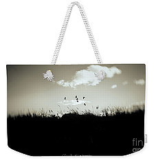 Weekender Tote Bag featuring the photograph Nothing Lasts by Chris Armytage
