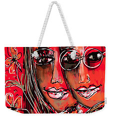 Weekender Tote Bag featuring the digital art Nothing More  by Sladjana Lazarevic