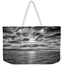 Weekender Tote Bag featuring the photograph Nothing Something Or All by Joseph Hollingsworth