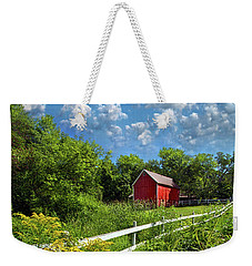 Noticing The Days Hurrying By Weekender Tote Bag by Phil Koch