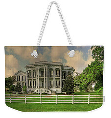 Notoway Plantation White Castle Louisiana Weekender Tote Bag