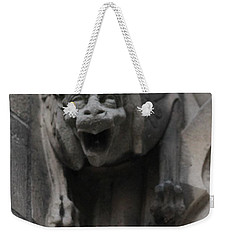 Weekender Tote Bag featuring the photograph Notre Dame 1 by Christopher Kirby