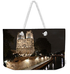 Notre Dame Cathedral From Petit Pont Weekender Tote Bag