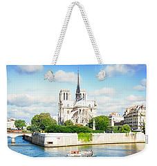 Notre Dame Cathedral, Paris France Weekender Tote Bag