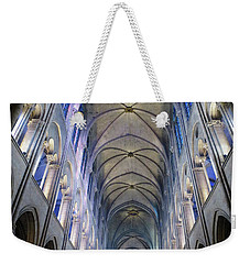 Notre Dame De Paris - A View From The Floor Weekender Tote Bag