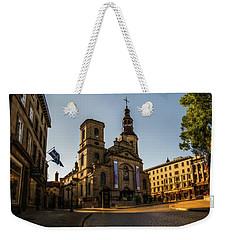 Notre-dame De Quebec Basilica-cathedral Weekender Tote Bag