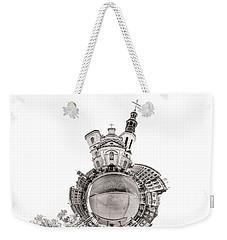Notre-dame De Quebec Basilica-cathedral - Tiny Planet Weekender Tote Bag