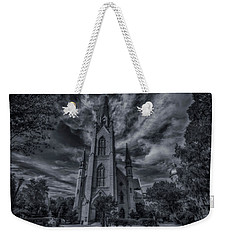 Notre Dame University Church Weekender Tote Bag by David Haskett