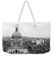 Nottingham City View, Uk Weekender Tote Bag