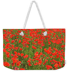 Nottinghamshire Poppies Weekender Tote Bag