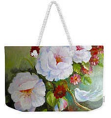 Noubliable  Weekender Tote Bag by Patricia Schneider Mitchell