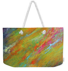 Nova Brillante. Abstract Acrylic Painting. Weekender Tote Bag