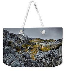 Nova Scotia's Rocky Shore Weekender Tote Bag