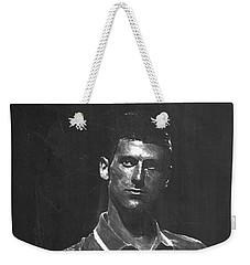 Novak Djokovic Weekender Tote Bag by Semih Yurdabak