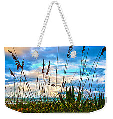 November Day At The Beach In Florida Weekender Tote Bag