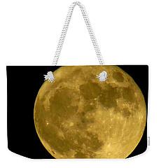 November Full Moon Weekender Tote Bag