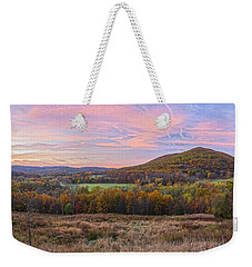 November Glowing Sky Weekender Tote Bag