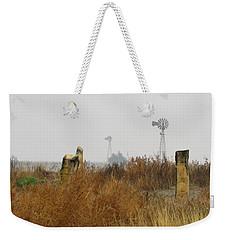 November In Ellis County Kansas Weekender Tote Bag