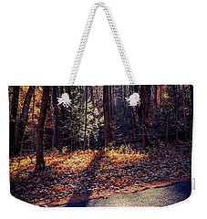 Weekender Tote Bag featuring the photograph November Light by Kendall McKernon