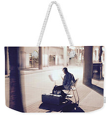 Night Music Weekender Tote Bag
