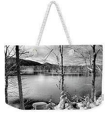November On West Lake Weekender Tote Bag by David Patterson