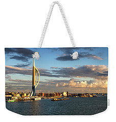 November - Portsmouth Harbour Weekender Tote Bag by Shirley Mitchell