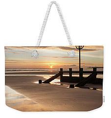 November Sunrise - Portrait Weekender Tote Bag