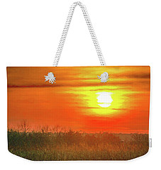 November Sunset Weekender Tote Bag