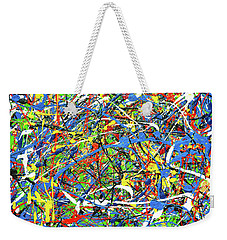 Weekender Tote Bag featuring the photograph NOW by Elf Evans