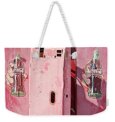 Double Bubbles Weekender Tote Bag by Joe Jake Pratt