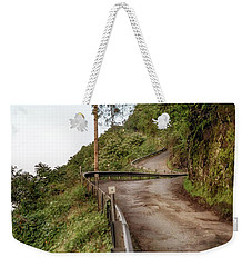 Weekender Tote Bag featuring the photograph Nowhere But Up by Susan Rissi Tregoning