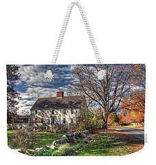 Noyes House In Autumn Weekender Tote Bag