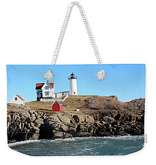 Nubble Light House  Weekender Tote Bag