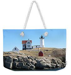 Nubble Light Weekender Tote Bag