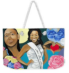 Nubian Princess Weekender Tote Bag