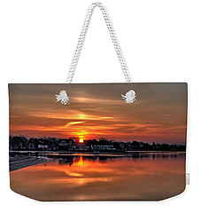Nuclear Morning Weekender Tote Bag