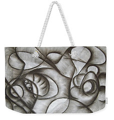 Nucleus Of Time Weekender Tote Bag