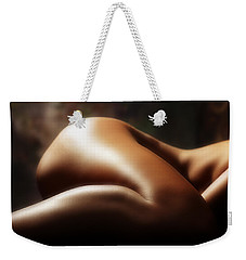 Nude 1 Weekender Tote Bag by Anthony Jones