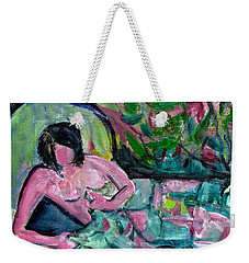 Nude After Matisse  Weekender Tote Bag by Betty Pieper