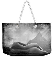 Nude At Chinaman's Hat, Pali, Hawaii Weekender Tote Bag