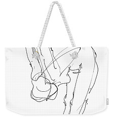 Nude Female Drawings 10 Weekender Tote Bag