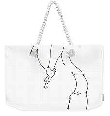 Nude Female Drawings 11 Weekender Tote Bag