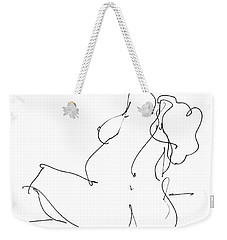 Nude-female-drawings-20 Weekender Tote Bag