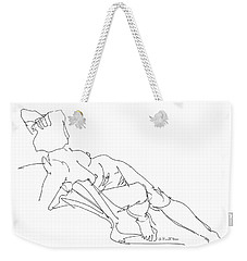 Nude Female Drawings 3 Weekender Tote Bag